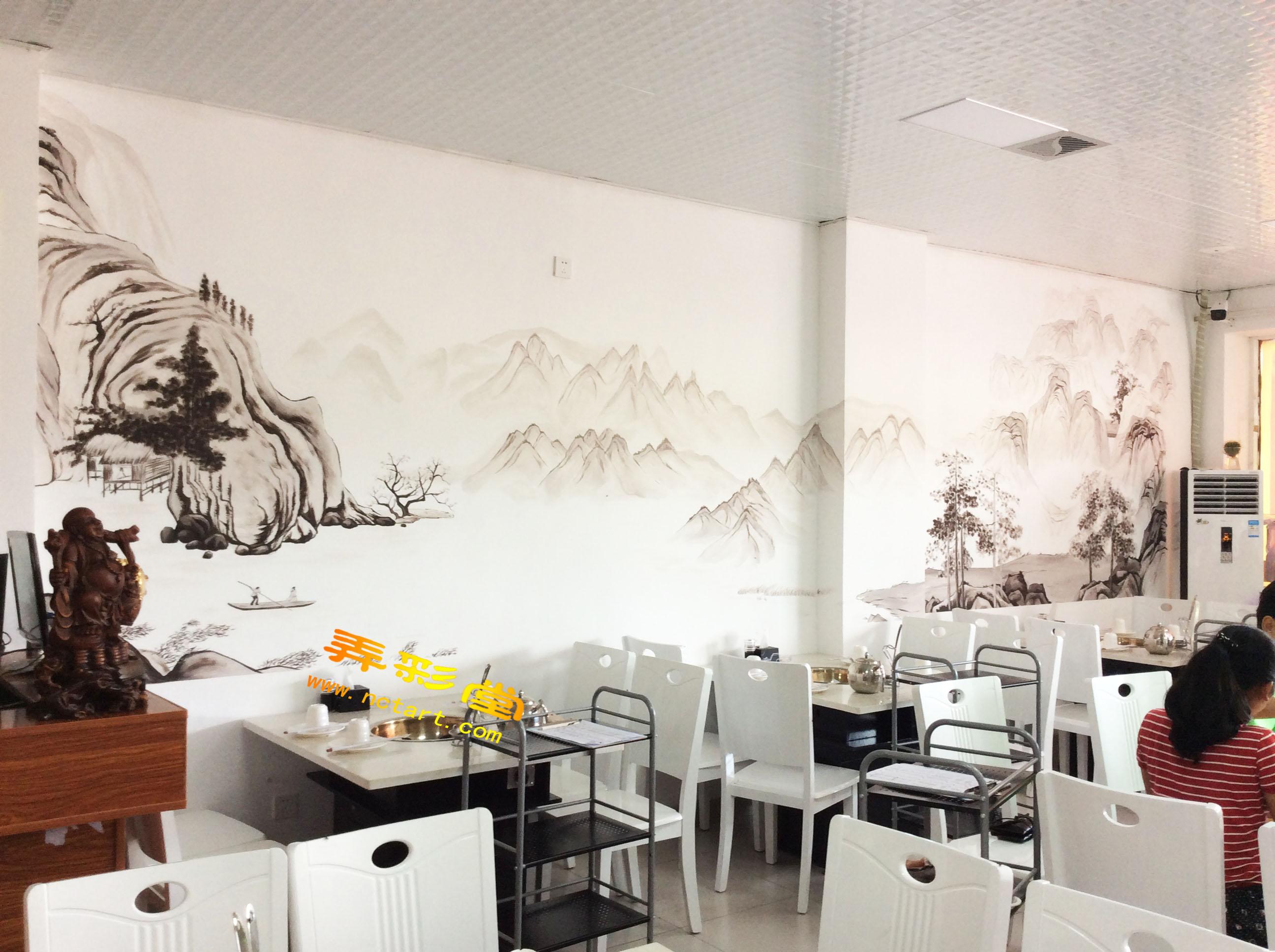 湖南衡阳哪里有专业做墙绘墙画的,衡阳手绘墙或者彩绘